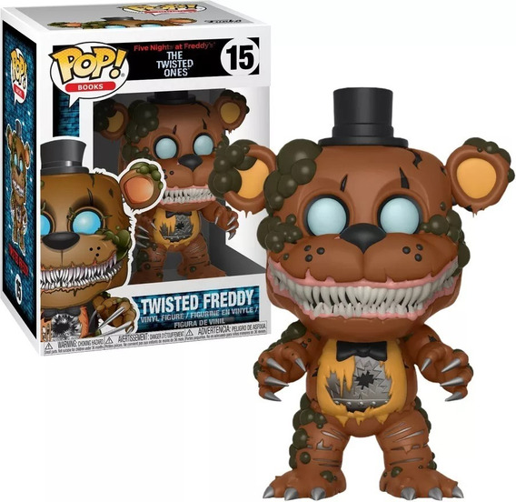 Funko Pop Five Nights At Freddys Twisted Freddy #15