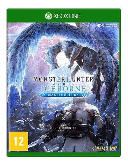 Monster Hunter World Iceborn Master Edition Xbox One Física
