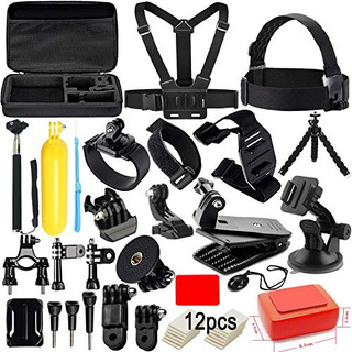 Action Camera Accessories Kit For Gopro Hero 7 6 5 4 3+ Sess