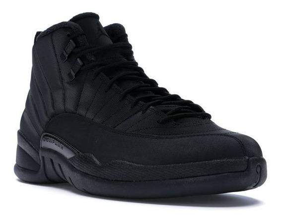Tênis Nike Air Jordan 12 Winter Black