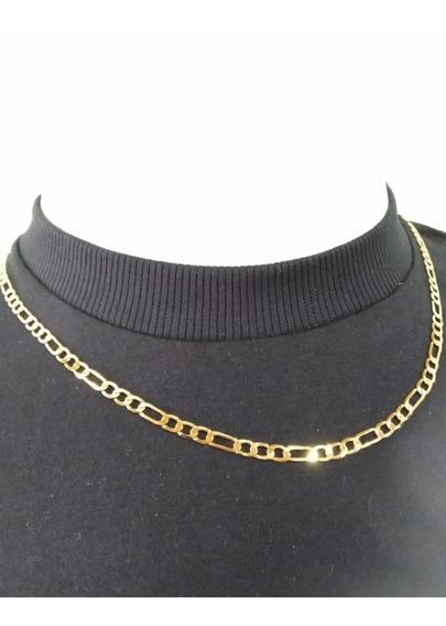 Corrente Masculina Ouro Banhada A Ouro 18k | Cordão Elegante E Estilosa