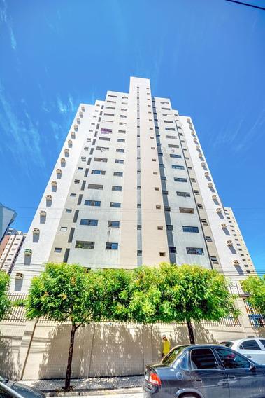 Apartamento 3 Quartos Na Aldeota - Ar Condicionado, 2 Vagas