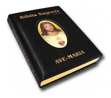Bíblia Ilustrada Capa Luxo Grand, Católica Frete Grátis