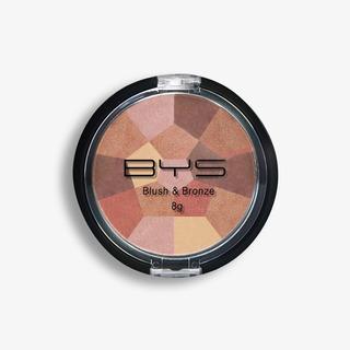 Bys Cosmetics Blush & Bronze Mosaic Compact High Shine