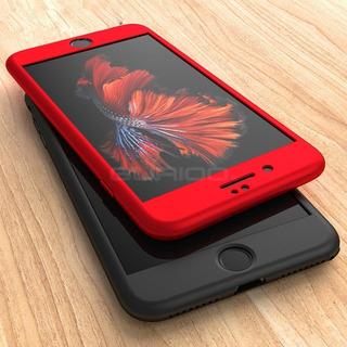 Forro iPhone 5 5s 6 6s 7 8 Plus X Xs Max Anti-golpe Full 360