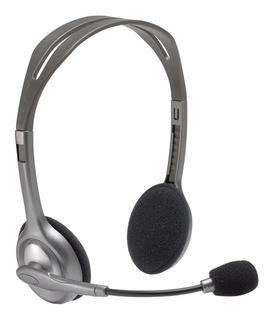 Auricular C/ Micrófono Logitech H111 Pc Consolas 1 Jack