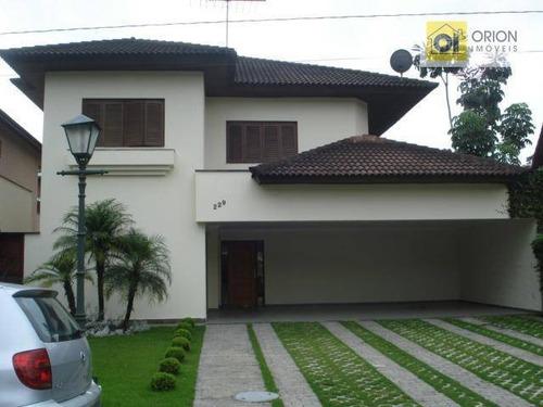 Casa Com 4 Dormitórios Para Alugar, 280 M² Por R$ 6.000,00 - Aldeia Da Serra - Barueri/sp - Ca0304