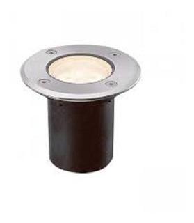 Luminaria De Empotrar En Piso Luz Gu10 Acero Inoxidable