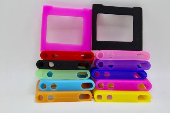 Capa Capinha Case Apple iPod Nano 6 Silicone Cores Nova