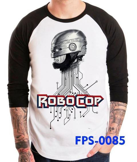 Playeras De Peliculas Cine De Culto Robocop Coleccionable