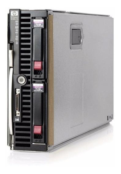 Servidor Blade Hp Lamina Bl460c G7 Quadcore 32gb 2x 146gb