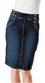 Falda Casual Mezclilla Dama Rev Jeans 59568