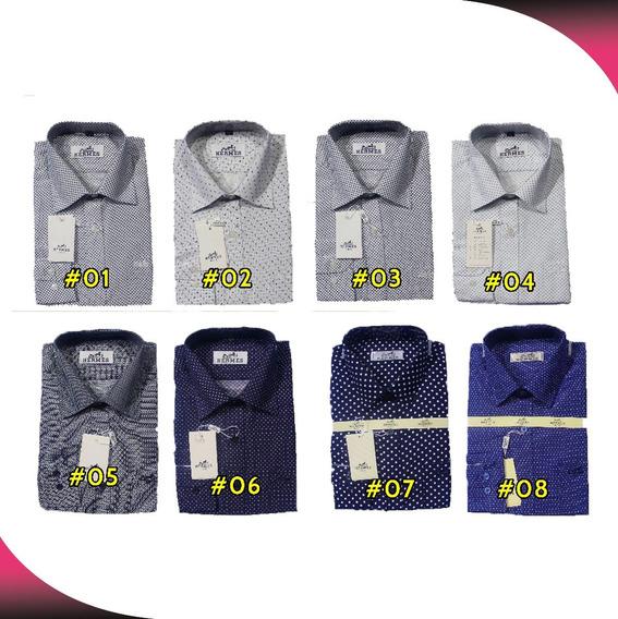 12 Camisas Manga Larga