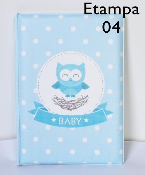 Álbum Meu Bebê Diver. Estampas C/ Diario - P/ 80 Fotos 15x21
