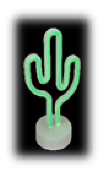 Luminaria Decorativa Cactus Jolitex Mek