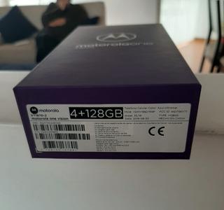 Vendo Motorola One Vision Nuevo - Entrega Inmediata!!