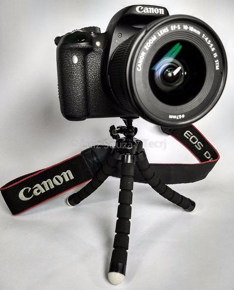 Mini Tripé Flexível Para Câmeras Dslr Mirrorless Compactas