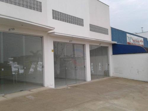 Salão Para Alugar, 165 M² Por R$ 4.000,00/mês - Parque Campo Bonito - Indaiatuba/sp - Sl1111