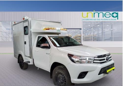 Imagen 1 de 9 de Ambulancia Rural Toyota Hilux 2.8 Mt 4x4 - 2021