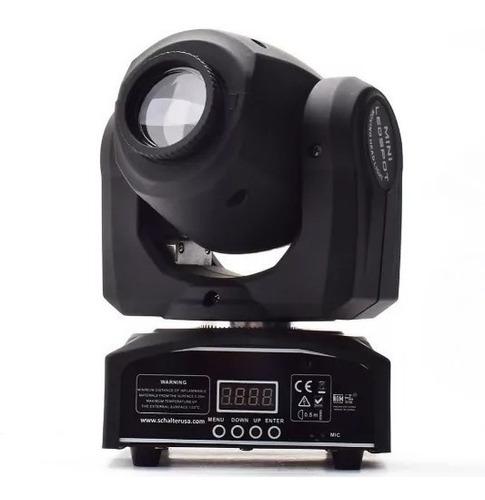 Moving Head Spot Osram 20w Gobo + Disco De Cores Dmx Sensor