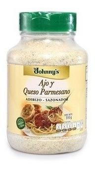 Aderezo-sazonador Ajo Y Queso Parmesano Jhonny´s 510 Gms