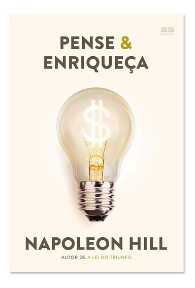 Livro Pense E Enriqueça - Napoleon Hill