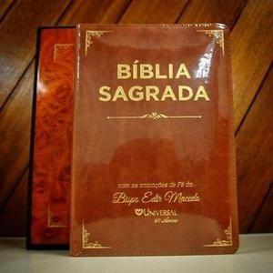 Bíblia Sagrada Com Anotações De Fé Do Bispo Edir Macedo