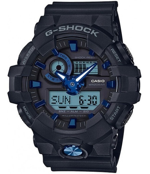 Relógio Casio G-shock Masculino Anadigi Ga-710b-1a2dr