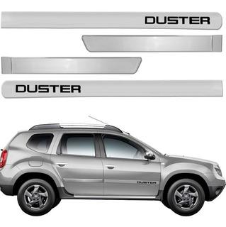 Friso Lateral Duster 11 A 17 Prata Etoile Renault Cor=carro