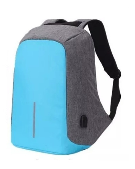 Mochila Antirrobo Smart Carga Usb Celular Notebook Tablet