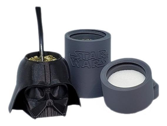 Set De Mate Darth Vader Impreso En 3d!!