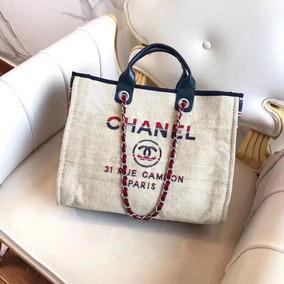 4282f55d6 Bolsa Chanel Feminina Deauvil. 1. São Paulo · Chanel Deauville Tote