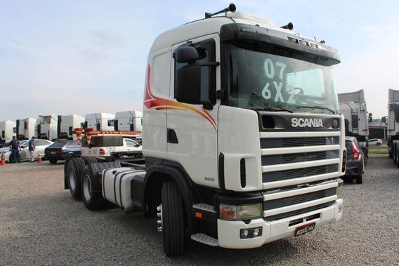 Scania 114 R 380 Truck / Trucado (6x2) 2007/07 Leito