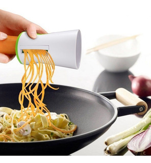 Spiralizer Vegetable Slicer Set 3-blade Handheld Cortador