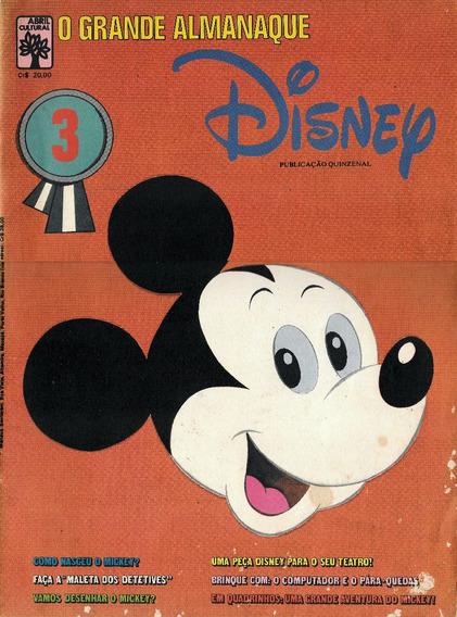 Luc014 O Grande Almanaque Disney Nº 3 - Mickey