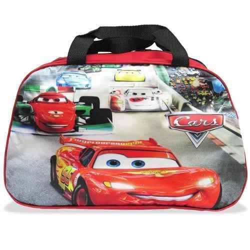 Bolsa Para Viagem Carros Relâmpago Mcqueen Infantil
