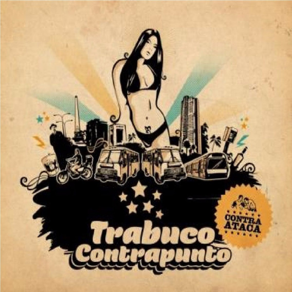 Cd Música Rock Latino Trabuco Contrapunto (digital)