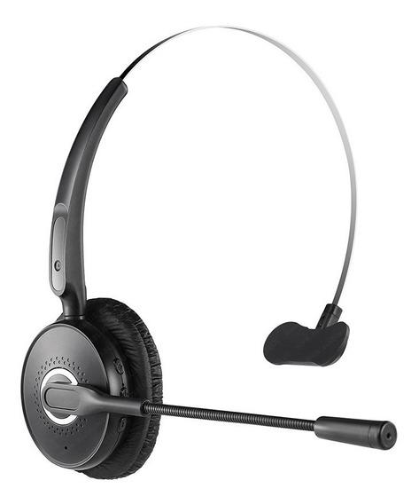 Binden Manos Libres Bluetooth A6 Diadema Con Cancelación De Ruido, Tipo Call Center, Batería 14 Horas