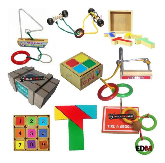 Desafios Puzzle + Jogo Barco + Labirinto + Prego + Enigma