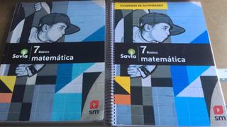 Matematica 7 Basico Proyecto Savia. A Color Nuevo Con Envío