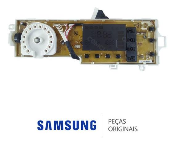 Placa De Função / Interface Wf106u4sawq Lavadora Samsung