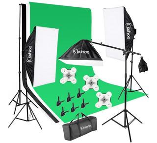 Foto Video Studio Kit De Luz Soportes De Fondos Bajo Pedido