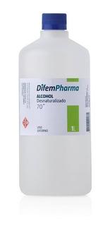 Alcohol Desnaturalizado 70, 1ltr Marca Difem