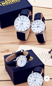 Relógios Lngjines De Luxo Par Casal Prova D Aguá
