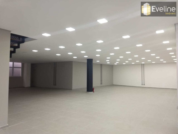 Salão Comercial Para Alugar Em Mogi Das Cruzes - 600m² - A1107