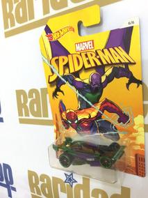 Hot Wheels Carro Homem-aranha Drift King Série Marvel 2016