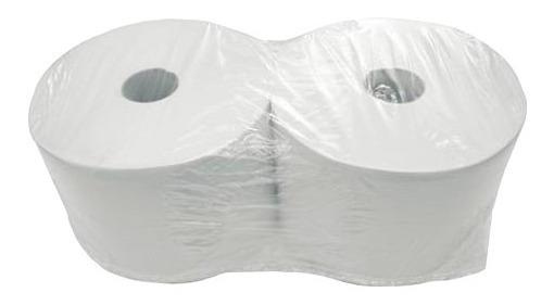 Rollo Bobina Toalla De Papel Tissue 20cm X 400m Blanco X 10u