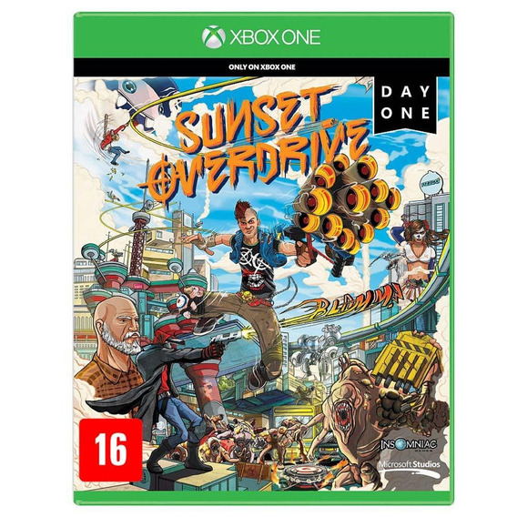Jogo Sunset Overdrive Xbox One X/s Original Lacrado Novo