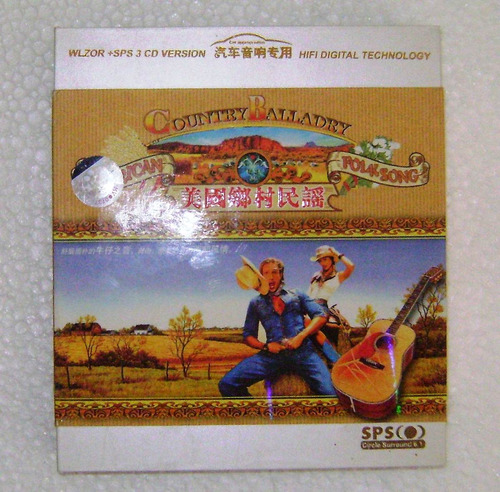 Country Balladry (balada Country) - 3cd