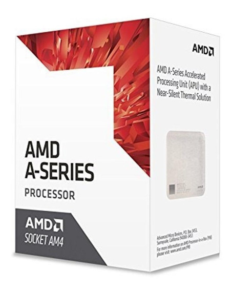 Processador Amd A8-9600 3.1ghz / Am4 / Radeon R7 / 4 Núcleos